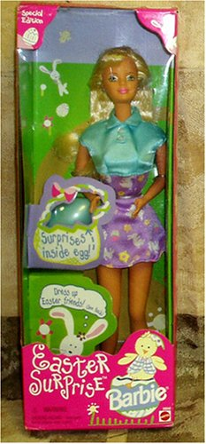 Barbie Doll Easter Surprise Special Edition Comes with Easter Egg with Surprises Inside - Buy Barbie Doll Easter Surprise Special Edition Comes with Easter Egg with Surprises Inside - Purchase Barbie Doll Easter Surprise Special Edition Comes with Easter Egg with Surprises Inside (Mattel, Toys & Games,Categories,Dolls)
