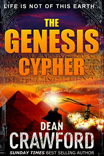 Police storm the headquarters of an apocalyptic cult in remote Utah, and in the carnage that follows a wounded police officer is led to safety through smoke and flames by a blind, young girl…  The Genesis Cypher by Dean Crawford
