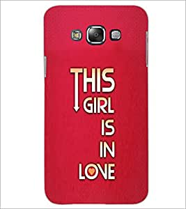 PrintDhaba Quote D-2955 Back Case Cover for SAMSUNG GALAXY E7 (Multi-Coloured)