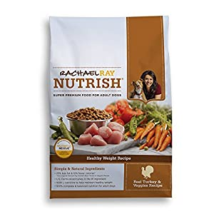 Rachael Ray Nutrish Healthy Weight Natural Dry Dog Food, Turkey and Veggies, 14 Pound