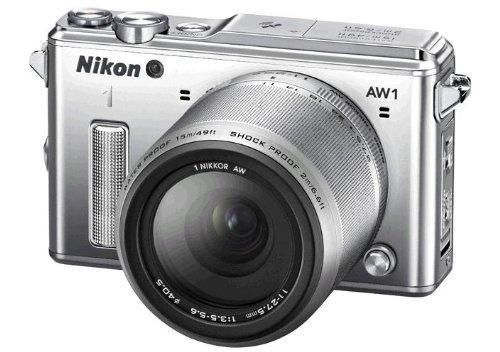 Nikon ミラーレス一眼カメラ Nikon1 AW1 Nikon 1 AW1 防水ズームレンズキット シルバー N1AW1LKSL