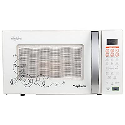 Whirlpool Magicook Deluxe 20-Litre 700-Watt Grill Microwave Oven (White)