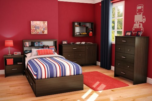 Cheap Kids Bedroom Furniture Set – Highway – South Shore Furniture – 3679-BSET (3679-BSET)
