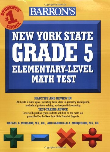 Barron's New York State Grade 5 Math Test