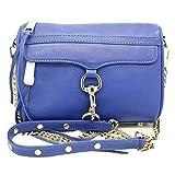 Rebecca Minkoff Mini MAC Morning After Clutch Leather Shoulder Bag, Cobalt #1