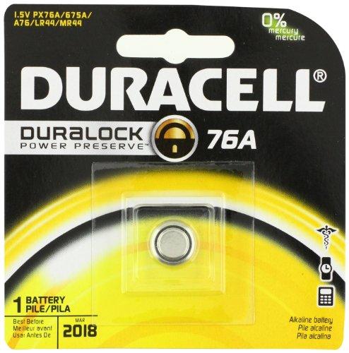 Duracell 76A Medical Battery 1 5 Volt Alkaline 1 CountB00006JPHG