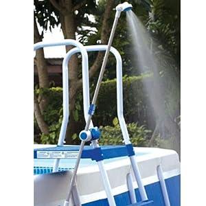 Doccia doccetta esterna kokido per piscine fuori terra for Douche solaire piscine castorama