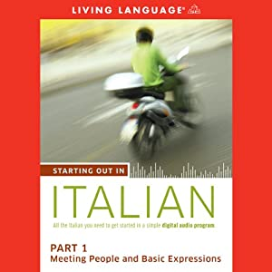 Starting Out in Italian, Part 1 Audiobook