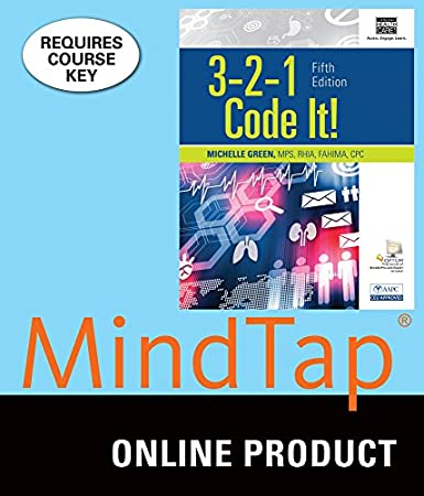 MindTap Medical Insurance & Coding for Green's 3,2,1 Code It, 5th Edition