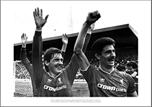 Kenny Dalglish & Ian Rush Liverpool 1986 League Champions Photo from Home of Legends