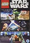 3 Lego Movie Collection DVD Star Wars...