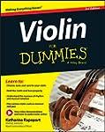 Violin For Dummies, Book + Online Vid...