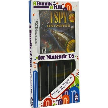 Stylus Bundle with I Spy NDS Game