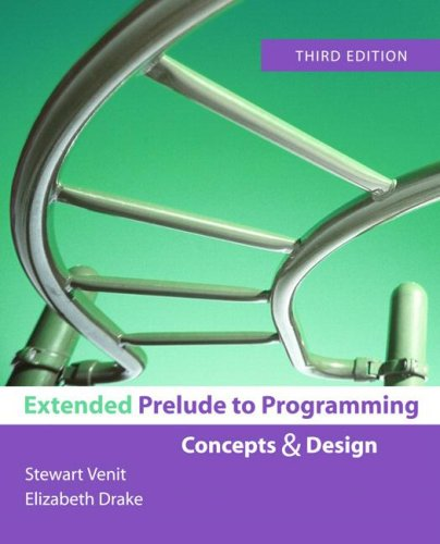 Extended Prelude to Programming (3rd Edition) (Prelude To Programming compare prices)