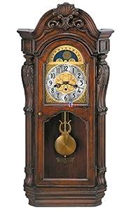 bulova canterbury majestic wall chiming clock home