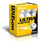 "WILSON Golfb�lle Ultra Ultimate Distance 24-ball Pack, wei�, WGWR56400von ""Wilson"""