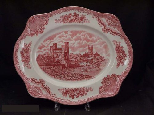 Christmas Tablescape Décor - Johnson Brothers Old Britain Castles Serveware