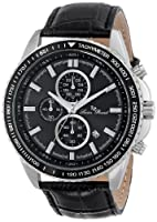 Lucien Piccard Men's LP-12552-01-BK Cartagena Analog Display Japanese Quartz Black Watch by Lucien Piccard