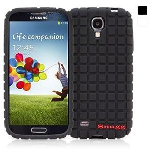 Snugg Silicone Skinny Case Cover for Samsung Galaxy S4 - Black