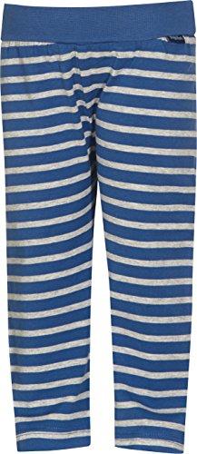 Playshoes Jungen Sport Legging Baby Ringel, Gr. 50 (Herstellergröße: 50/56), Blau (original 900)