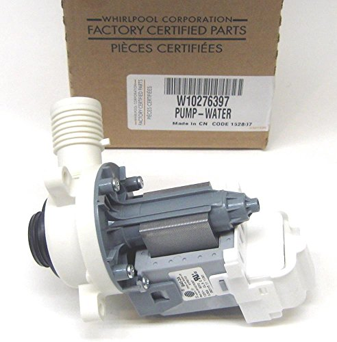 Major Appliances W10276397 Whirlpool Kenmore Washer Water Drain Pump Motor AP4514539 PS2580215 (Kenmore 116 Wand compare prices)
