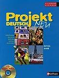 echange, troc Claudine Decocqman, Robert Jourdan, Monika Peyrot, Ursula Reynis, Roswitha Schoben - Allemand 2e Projekt deutsch neu : Programme 2003 (1CD audio)