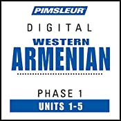 Armenian (West) Phase 1, Unit 01-05: Learn to Speak and Understand Western Armenian with Pimsleur Language Programs |  Pimsleur