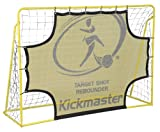Kickmaster Kids Target Shot and Rebounder - Yellow, 6ft