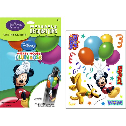 Mickey and Pluto Everyday Moveable Decorations