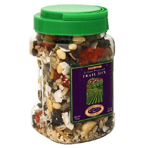 Energy Club Tropical Trail Mix, 16-Ounce Jar (Pack of 6)