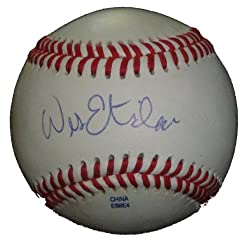Wes Etheridge Autographed ROLB Baseball, Toronto Blue Jays, Proof Photo
