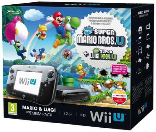 Nintendo Wii U Mario + Luigi Premium Pack