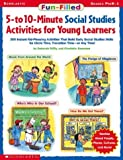 img - for Fun-filled 5-to 10-minute Social Studies Activities For Young Learners book / textbook / text book