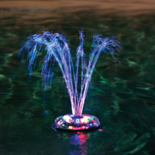Swimming Pool Light & Fountain Show