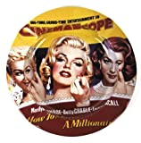 Marilyn Monroe 'How To Marry A Millionaire' Ashtray - Yellow
