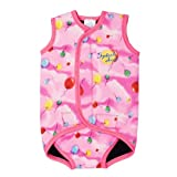 Splash About neoprene Baby Wrap (swimwear), Pink Balloon Print, Small, 0-6 mths