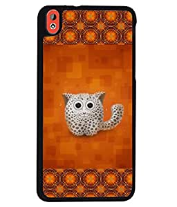 Printvisa 2D Printed Cat Designer back case cover for HTC Desire 816 - D4153