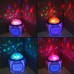 Projecteur enfant Etoile LED reveil H...