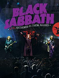 BLACK SABBATH LIVE...GATHERED IN THEIR MASSES DVD