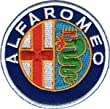 "Logo Aufn�her / Iron on Patch "" ALFAROMEO """