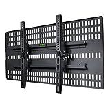 STARPLATINUM 37-46インチ対応 壁掛け金具 TVセッター壁美人 TI200 Mサイズ ブラック【壁掛け】