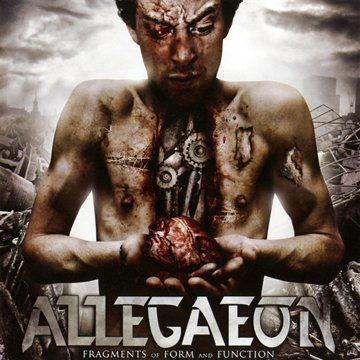 Fragments of Form & Function by Allegaeon (2010) Audio CD