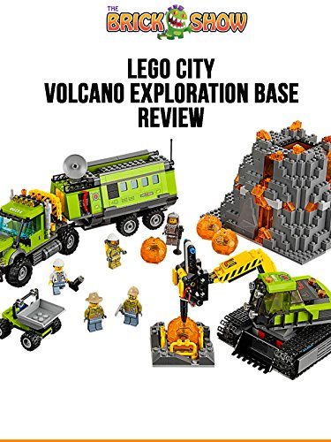 LEGO City Volcano Exploration Base Review (60124)