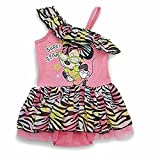 Disney Baby Girls Minnie Mouse One Piece Skirted Bodysuit