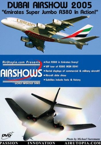 Dubai Air Show Dvd Emirates A380 In Action (Emirates A380 Model compare prices)