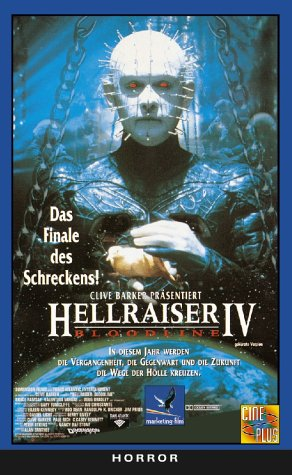 Hellraiser 4 - Bloodline [VHS]