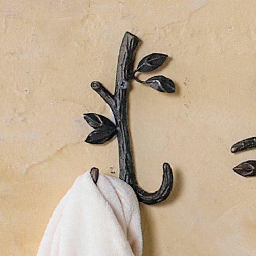 Nature Walk Double Wall Mounted Towel Hook
