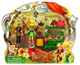 51WQTrsyJLL. SL160  Playmates Toys Disney Fairies Tinkerbell & The Lost Treasure Playset Tinkerbell & Terence Tea Party