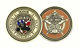 Harley-Davidson Sheriff Service Challenge Coin 1.75'' Gold Color 8002930