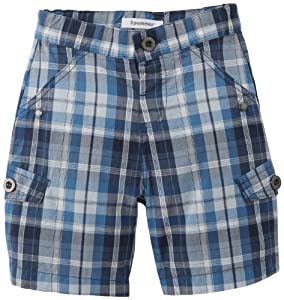 3 Pommes Bermuda Ecossai - Pantalón corto para niño
